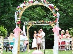 dekoracje przygotowane na ślub